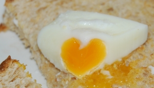 Love in my poached egg